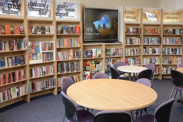 Sheetal Sports Senior Secondary School-Library
