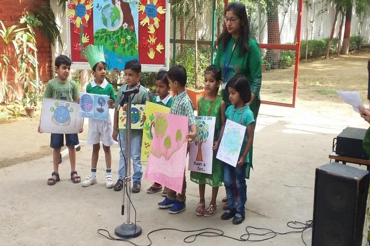 Sherwood Convent School-Earth Day Celebration