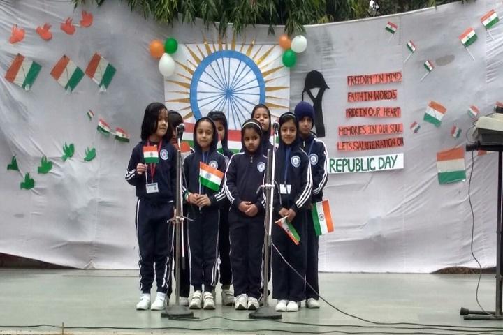 Sherwood Convent School-Republic Day