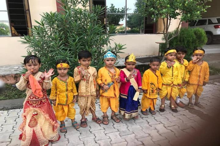 Shivalik Senior Secondary School-Krishnastami Celebrations