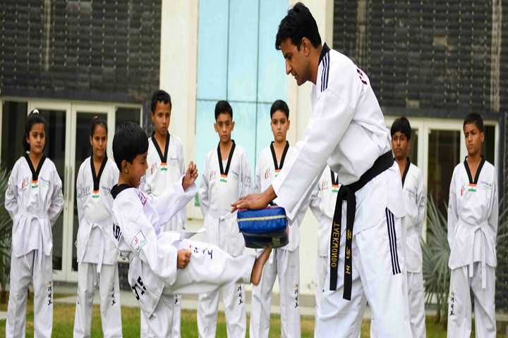 Shreejee International School-Karate