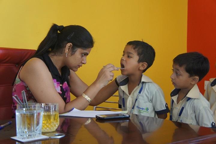 Shreejee International School-Medical Checkup