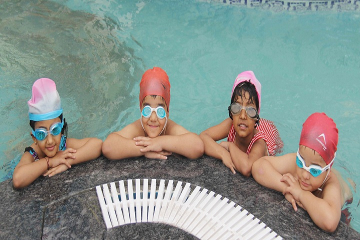 Shreejee International School-Swimming Pool