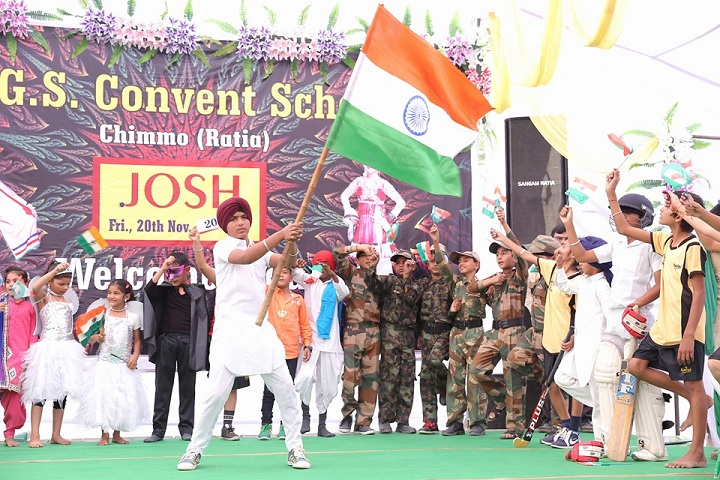 Shri Guru Gobind Singh Convent School-Cultural Program