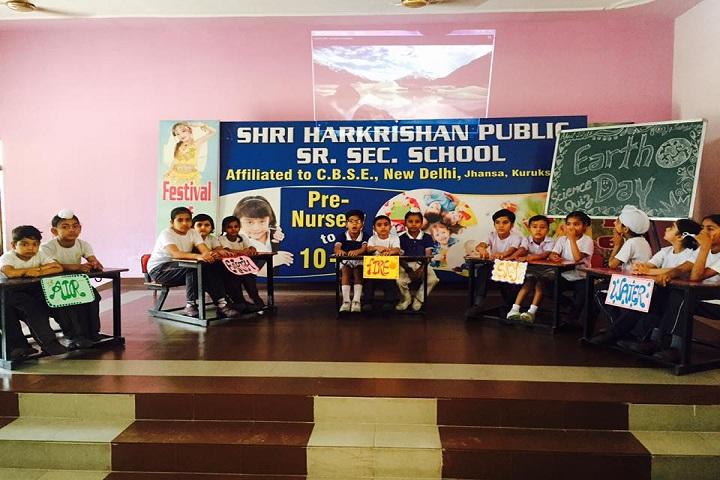 Shri Harkrishan Public School-Earth Day Activity