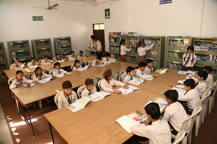 Shri Harkrishan Public School-Library