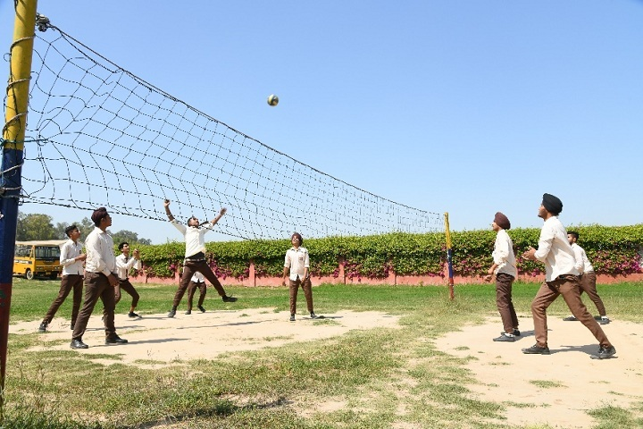 Shri Harkrishan Public School-Volleyball Court