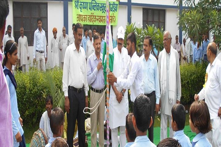 Shri Krishna Public School-Independence Day
