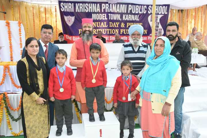 Shri Krishna Parnami Public School-Award Presentation