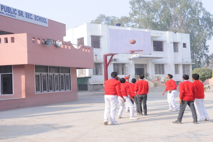 Shri Krishna Parnami Public School-basket Ball Court