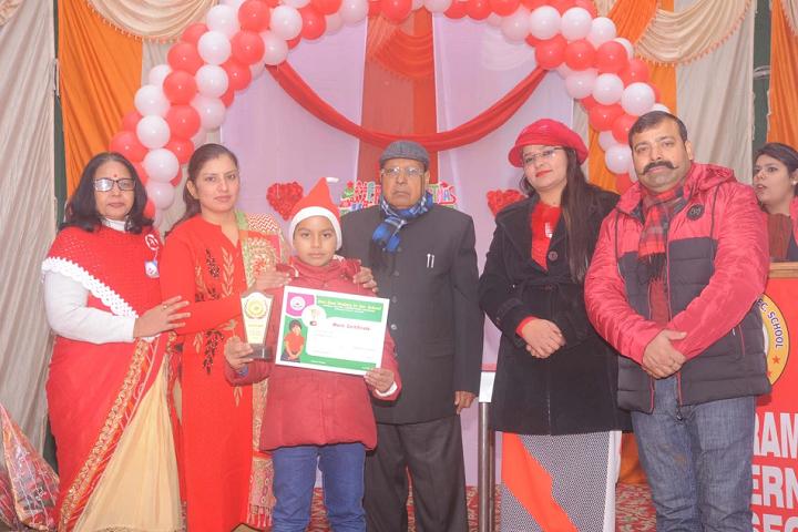 Shri Ram Modern Senior Secondary School-Prize