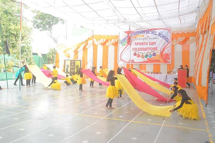 Shri Ram Modern Senior Secondary School-Sports Day Celebration