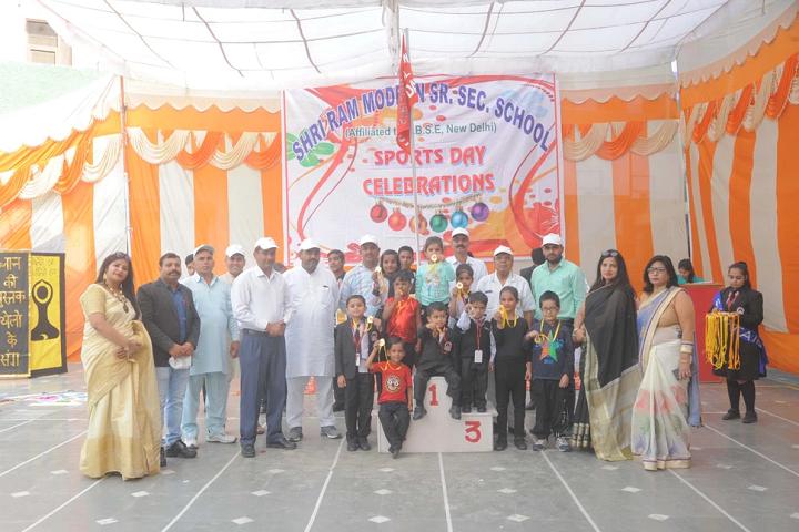 Shri Ram Modern Senior Secondary School-Sports Winner
