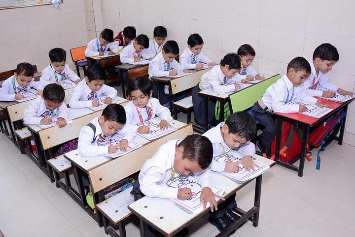 Shri Rama Bharti High School-Classroom