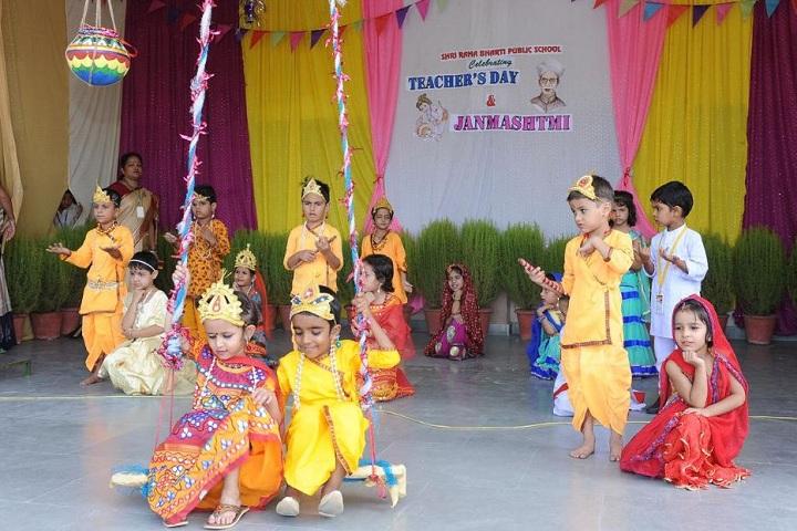 Shri Rama Bharti High School-Krishnastami Celebrations