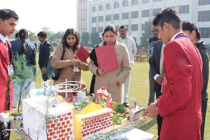 Shri Rama Bharti High School-Science Exhibition