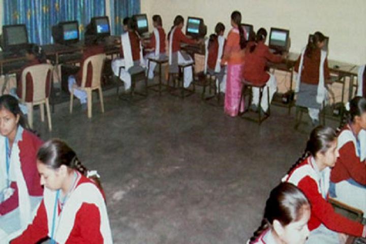 Shri Tharu Ram Arya Kanya Uchatam Madhyamik Vidyalaya-Computer Lab