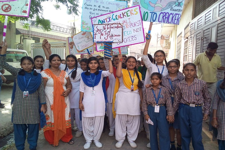 Siri Shiv Chaitanya Academy School-Anti Crackers Rally