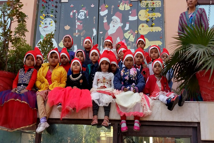 Siri Shiv Chaitanya Academy School-Christmas Celebrations