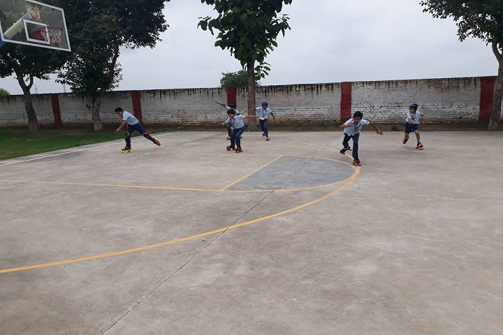 Sky Lark International School-Basket Ball Court