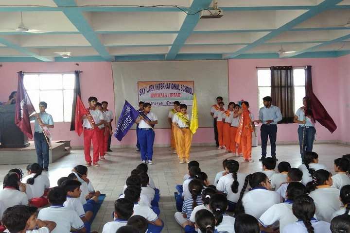 Sky Lark International School-Investiture Ceremony