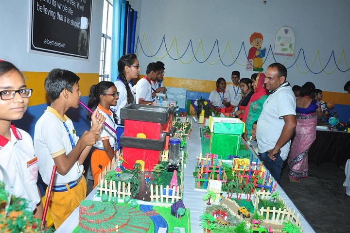 Sky Lark International School-Science Exhibition