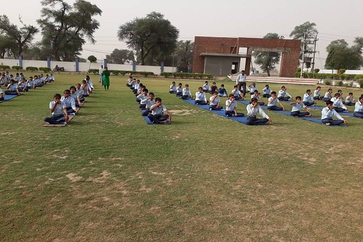Sky Lark International School-Yoga