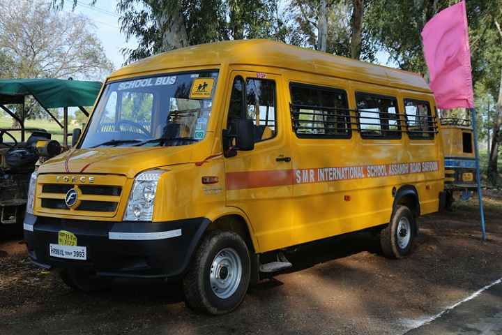 SMR International School-Transport