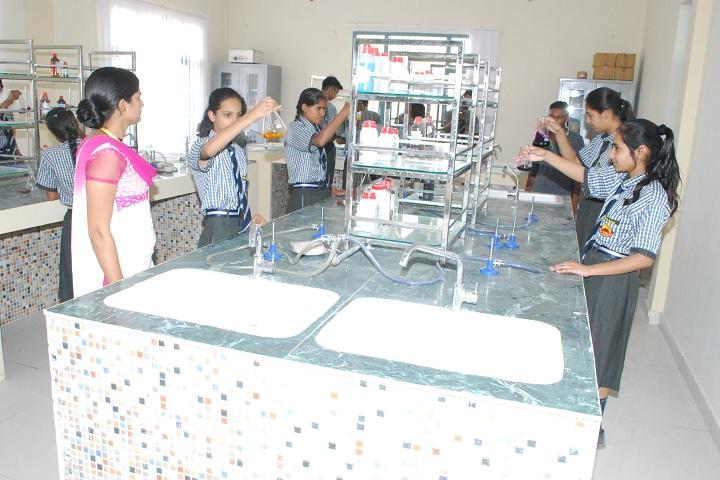 Smriti Public School-Chemistry Lab