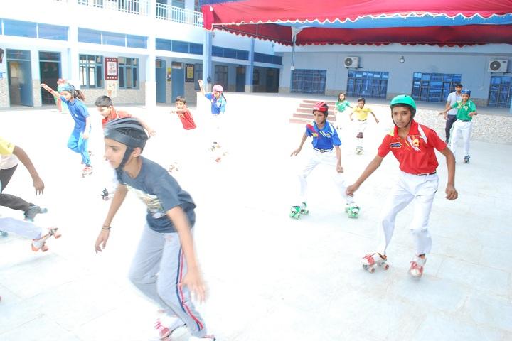 Smriti Public School-Skating