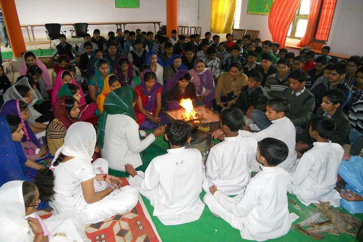 Som Convent Gurukul-Pooja Event