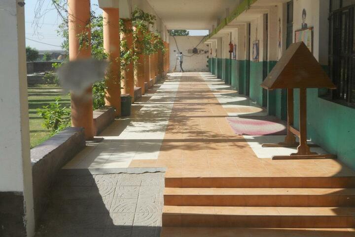 Som Convent Gurukul-School Corridor