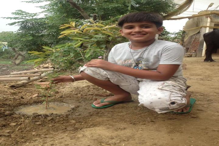 Som Convent Gurukul-Tree Plantation