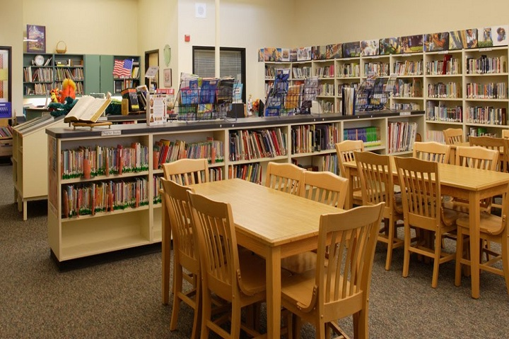 St Lawrence International School-Library