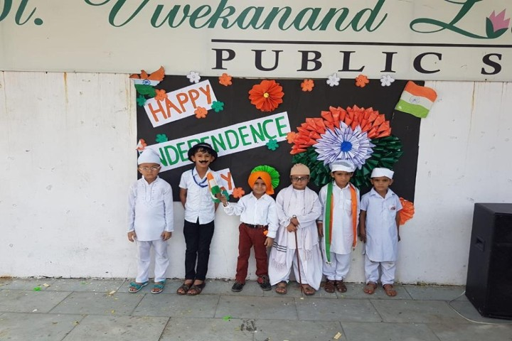 St Vivekanand Lotus Valley Public School independence day celebrations