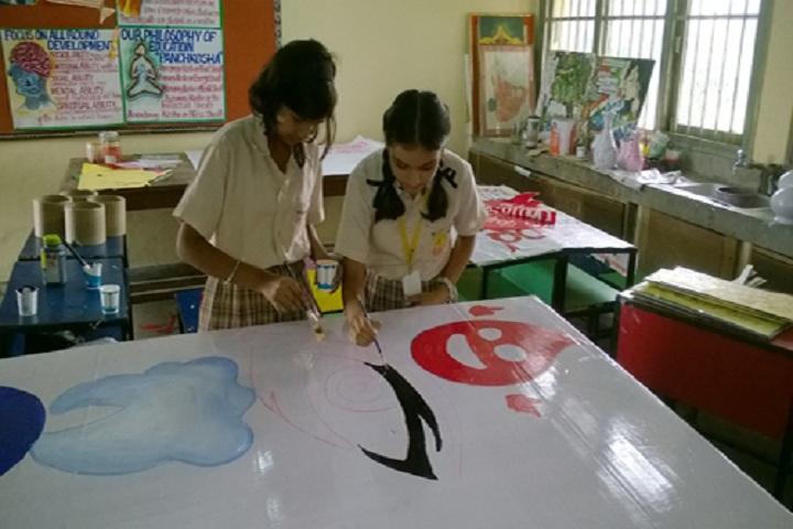 St Vivekanand Millennium School-Arts Room