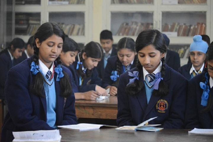 St Vivekanand Millennium School-Library