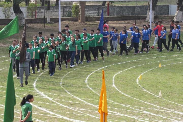 St Vivekanand Millennium School-parade