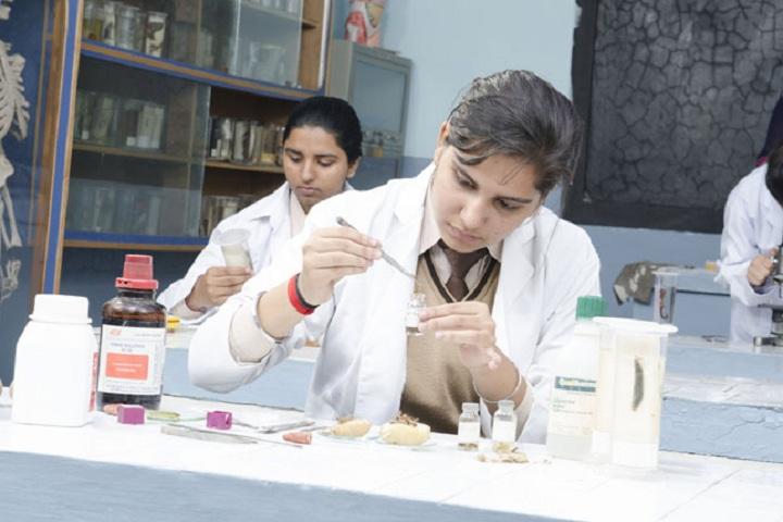 St Xaviers Senior Secondary School-Biology Lab