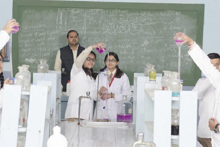 St Xaviers Senior Secondary School-Chemistry Lab