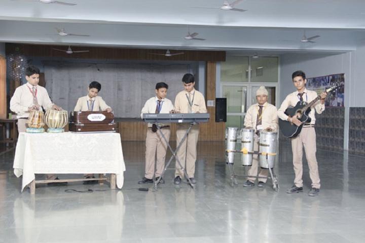 St Xaviers Senior Secondary School-Music Room