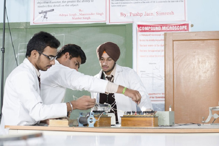 St Xaviers Senior Secondary School-Physics Lab