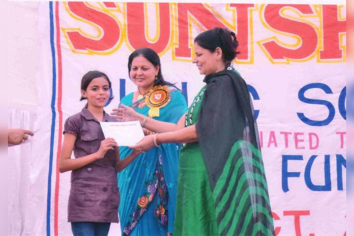 Sunshine Public School- certificate Facilitation