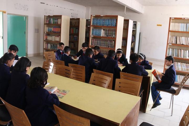 Teri Public School-Library