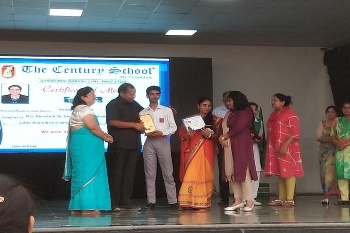 The Century School - Certificate Issue