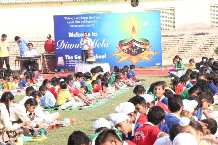 The Genius Senior Secondary School-Diwali mela