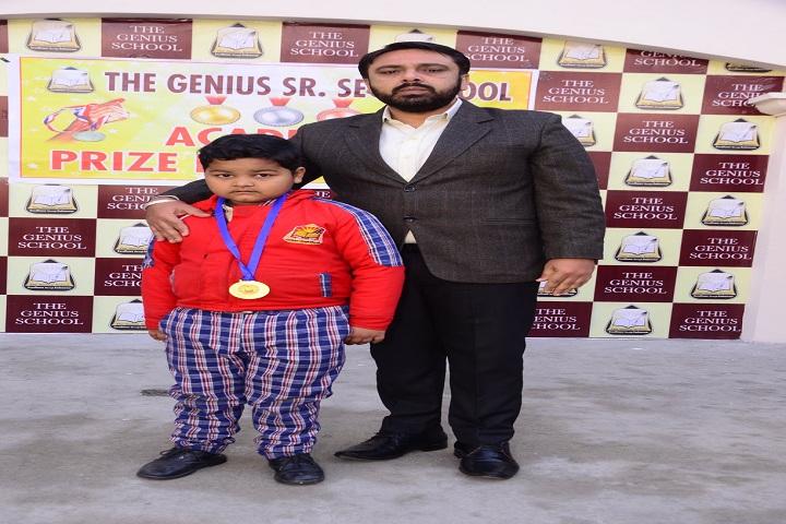 The Genius Senior Secondary School-Prize Distribution
