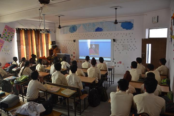 The Genius Senior Secondary School-Smart classrooms