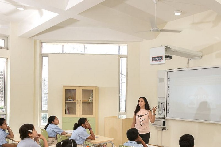 The HDFC School-Classroom