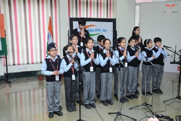 The HDFC School-Republic day